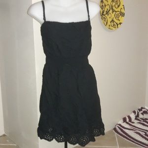 Womens sz XL Charming Charlie little black dress